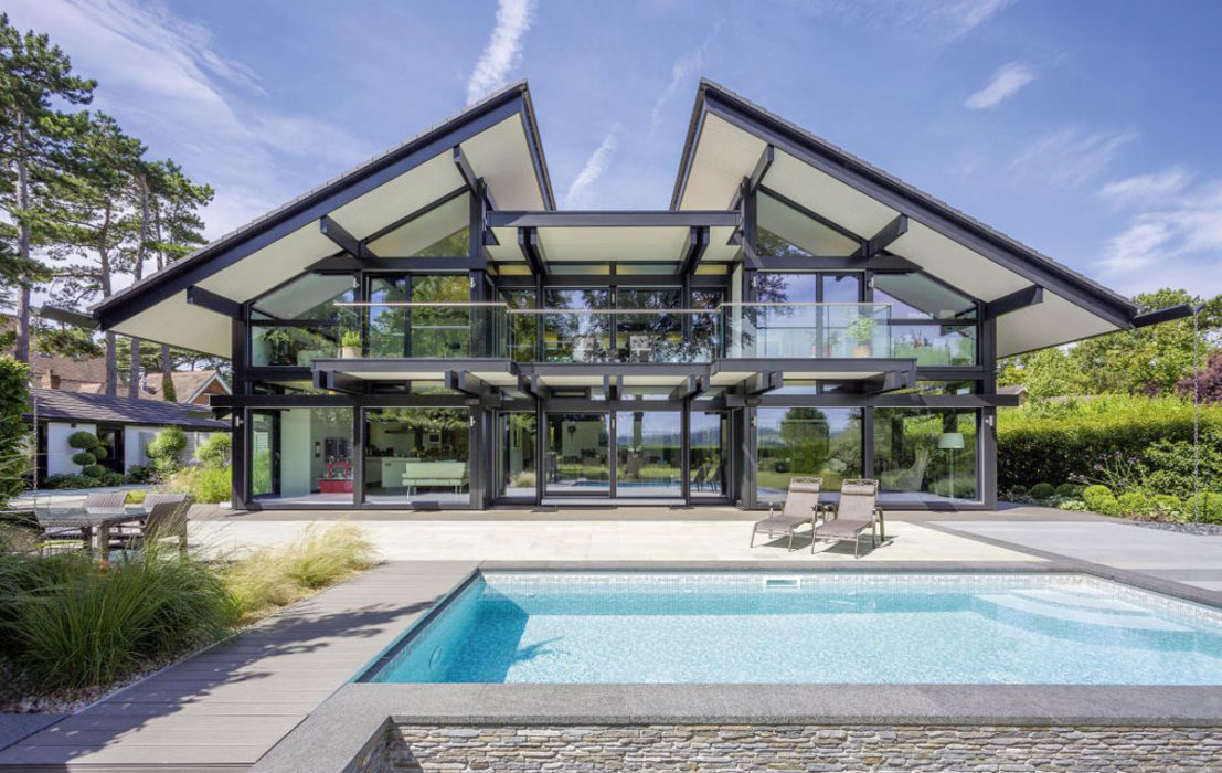 Ein HUF-Haus realisiert mit RICON® S