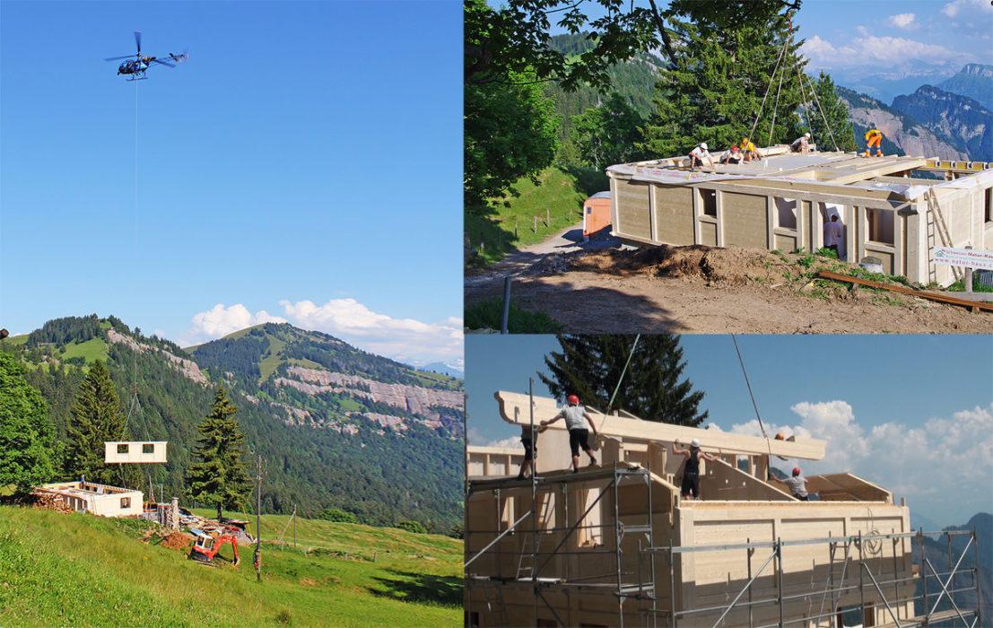 Ein Einfamilienhaus am Rigi realisiert mit WALCO® V