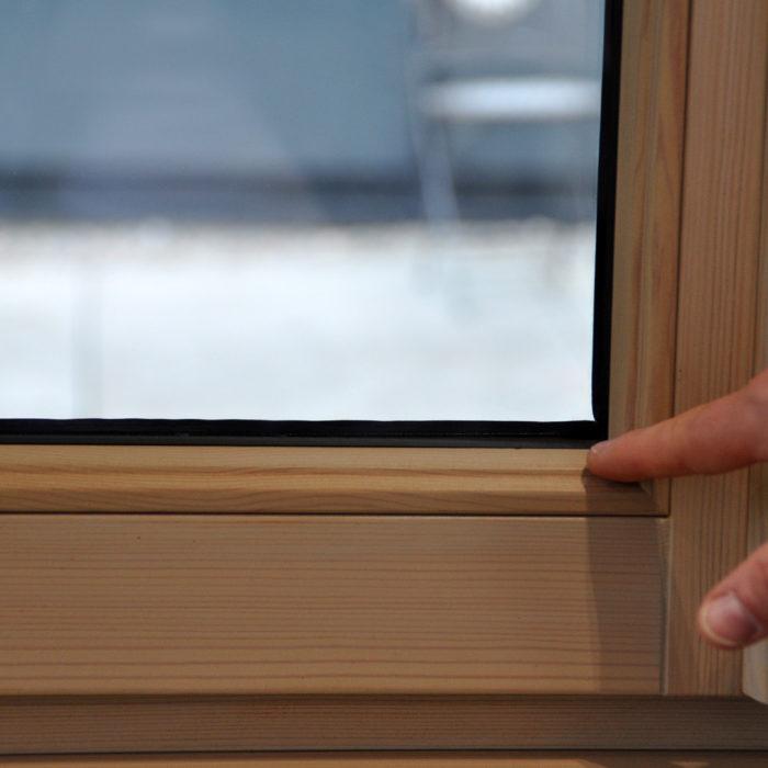 Döpfner Fenster mit der FIXclip-Schiene