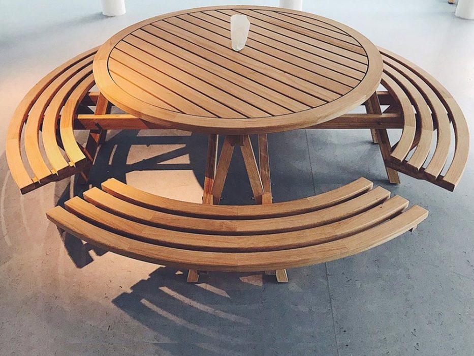Gartentisch Von Robin Zadrazil Mit RICON® Edelstahl