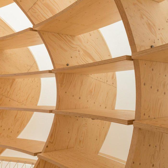 Pavillon auf der Frankfurter Buchmesse | (c) Holzbau Amann GmbH