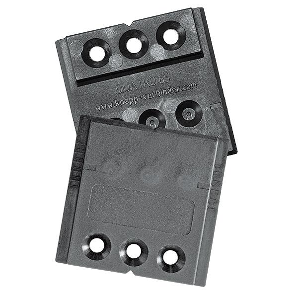 montageschablone quatro 65 knapp verbinder. Black Bedroom Furniture Sets. Home Design Ideas